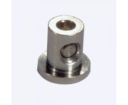 Кольцо запорное на рулонную штору металлическое.